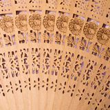 The Chinese folding fan Stock Images