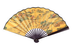 Chinese foldingl fan Stock Image