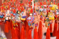 Chinese folk art. Antique city of Beijing. This is a very famous market of antique of Beijing Stock Image
