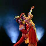 Chinese Folk Dance Royalty Free Stock Photography