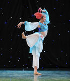 Chinese folk dance-Basket dance Stock Photography
