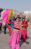 Chinese Folk Dance Royalty Free Stock Photo