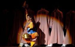 Chinese folk dancer Stock Photos