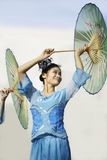 Chinese Folk Dances Stock Images