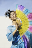 Chinese Folk Dances Royalty Free Stock Images