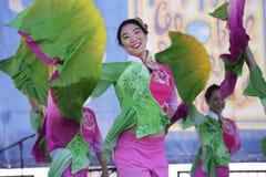 Chinese Folk Dances Stock Image