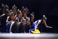 Chinese folk dancing girls Royalty Free Stock Photo
