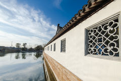 Chinese folk house Stock Photo