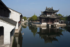 Chinese folk house Royalty Free Stock Photo