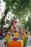 Chinese folk performances piaose activities Stock Photos