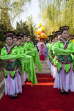 Chinese folk ritual ceremony Royalty Free Stock Image