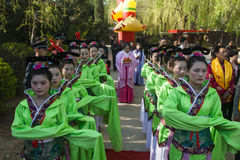Chinese folk ritual ceremony Stock Photography