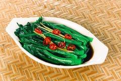 Chinese foodï¼ bijgerechten Stock Foto's