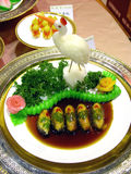Chinese Food. Specialty dish display Stock Photos