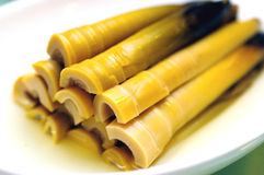 Chinese food. The chinese cold dish bamboo shoot Royalty Free Stock Photography