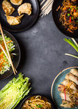 Chinese food background Royalty Free Stock Photography