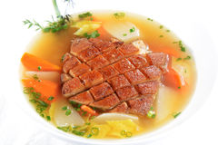Chinese Food: Boiled Pork Shank Royalty Free Stock Photo