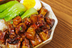 Chinese food--Braise in soy sauce meat Royalty Free Stock Images