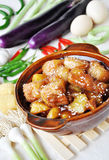 Chinese food braised pork Royalty Free Stock Images