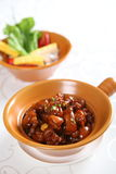 Chinese food--braise in soy sauce meat Royalty Free Stock Photos