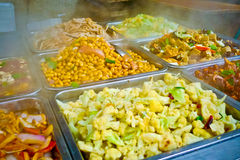 Chinese food buffet Stock Photo
