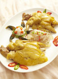 Chinese food chicken Royalty Free Stock Photography