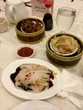 Dim sum in NYC royalty free stock image
