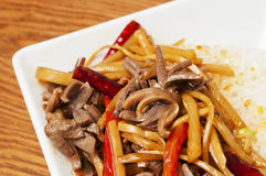 Chinese  food-Chicken giblets Royalty Free Stock Photography