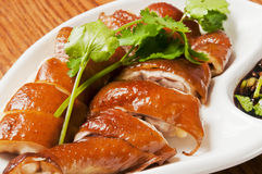 Chinese  food-Chicken leg Royalty Free Stock Photo