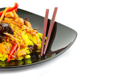 Chinese food composition Stock Image