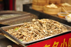 Chinese Food delicacy 3 - sliced intestines Royalty Free Stock Images
