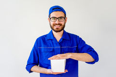Chinese food delivery Stock Photo