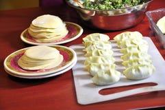 Chinese Food of dumpling(Jiaozi) Royalty Free Stock Photos