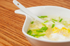Chinese  food-Egg soup Royalty Free Stock Photography