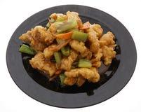 Chinese food. Fresh fish carp Royalty Free Stock Photo