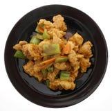 Chinese food. Fresh fish carp Stock Images