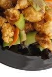 Chinese food. Fresh fish carp Royalty Free Stock Photos