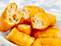 Chinese food, fried cruller Royalty Free Stock Image