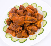 Chinese food. Fried pork. Stock Photography