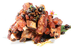 Chinese Food: Fried pork steak Royalty Free Stock Photo