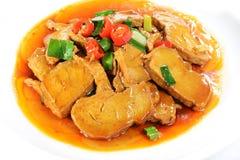 Chinese Food: Fried Tofu Royalty Free Stock Photo