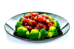 Chinese food general tso's chicken (General Chang's Chicken) Stock Image
