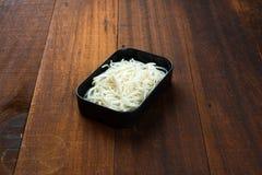 Chinese food ingredient, egg noodles. Egg noodles Chinese food ingredient royalty free stock photography