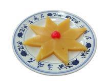 Chinese food. Isolated on white background Royalty Free Stock Image