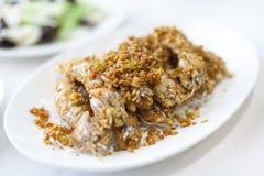 Chinese Food, Mantis Shrimp Royalty Free Stock Photo