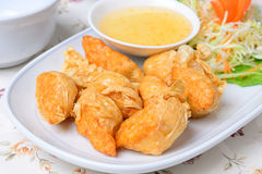 Chinese food name Deep fried shrimp rolled Stock Photo