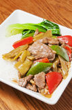 Chinese  food --Pickled cabbage beef Stock Photos