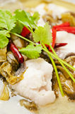 Chinese  food-Pickled fish Stock Photography