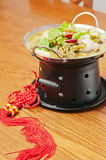 Chinese  food-Pickled fish Stock Image