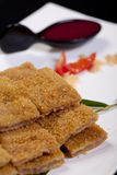 Chinese food pork cutlet Royalty Free Stock Photography